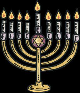 swiecznik zydowski